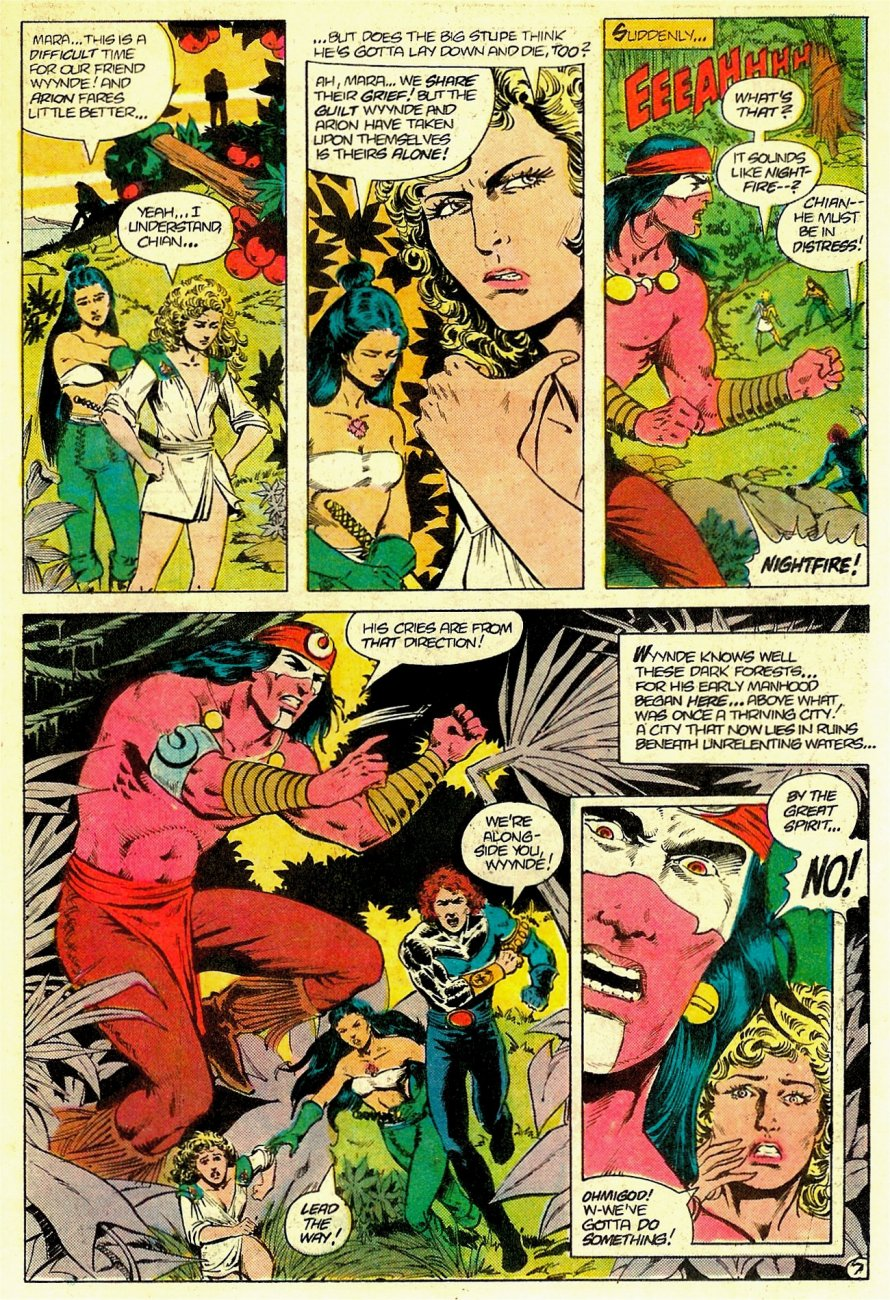 Read online Arion, Lord of Atlantis comic -  Issue #19 - 8