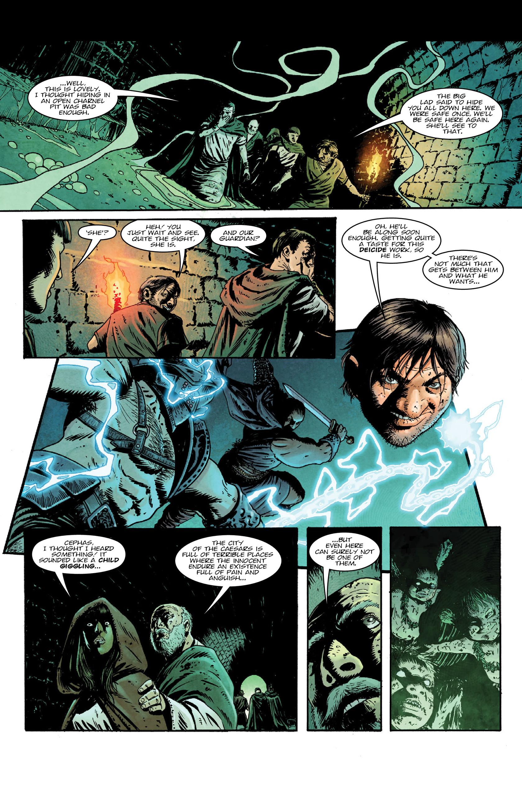 Read online Aquila comic -  Issue #5 - 5