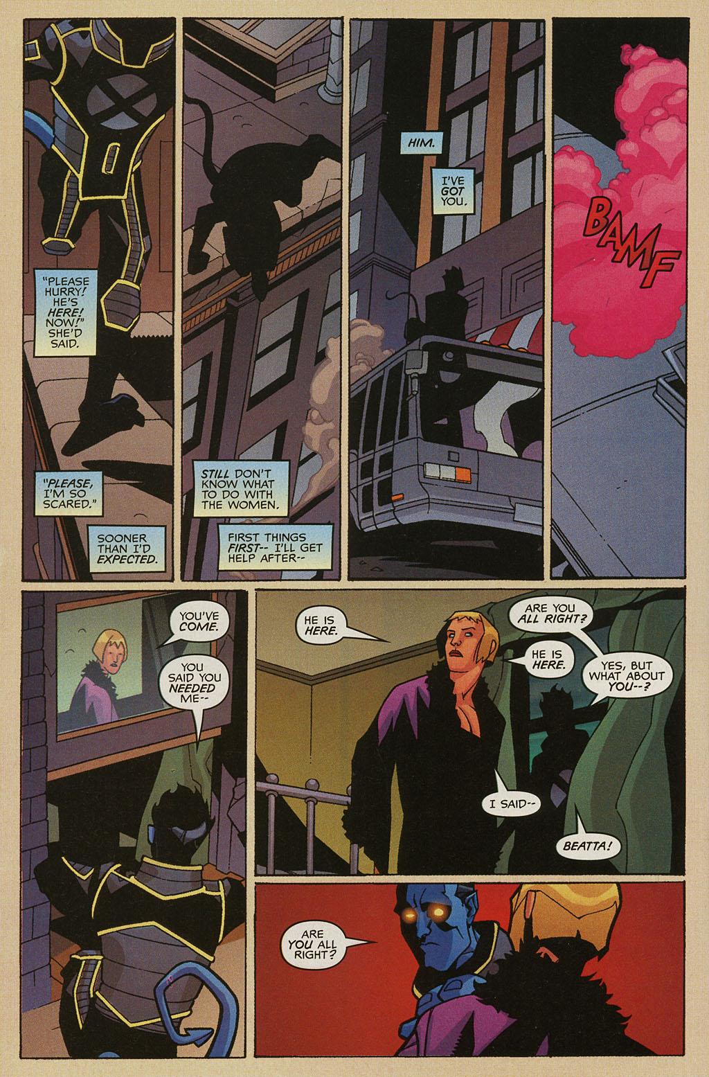 Read online Nightcrawler (2002) comic -  Issue #3 - 18