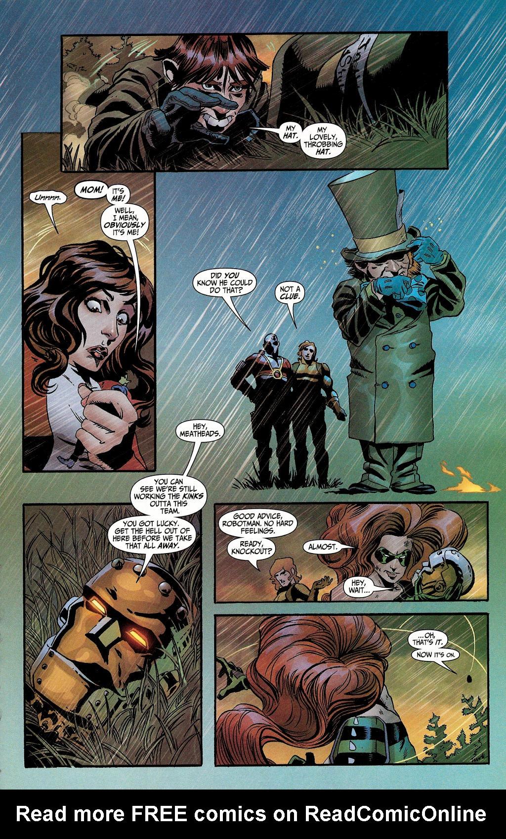 Read online Secret Six (2006) comic -  Issue #4 - 24