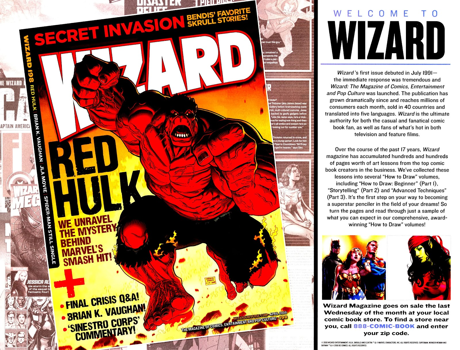 Read online Wizard How to Draw Sampler comic -  Issue # Full - 2