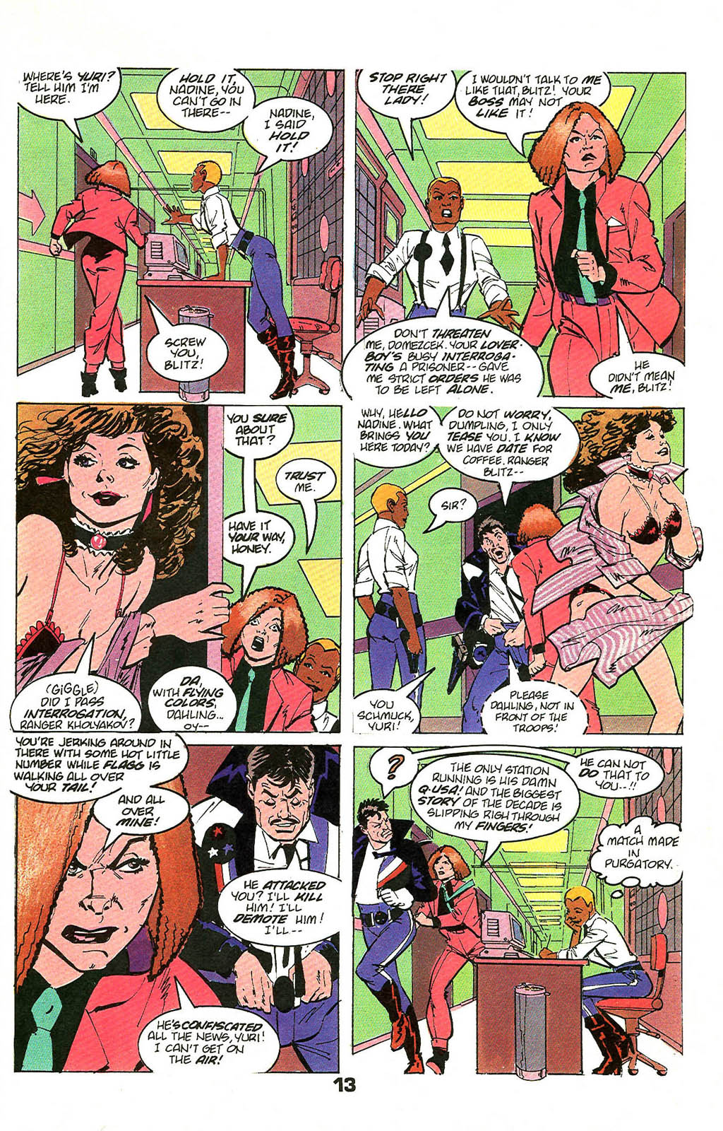 Read online American Flagg! comic -  Issue #49 - 17