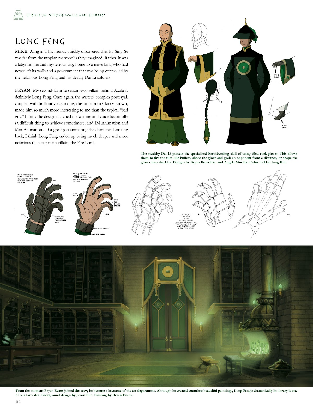 Read online Avatar: The Last Airbender - The Art of the Animated Series comic -  Issue # TPB (Part 2) - 11