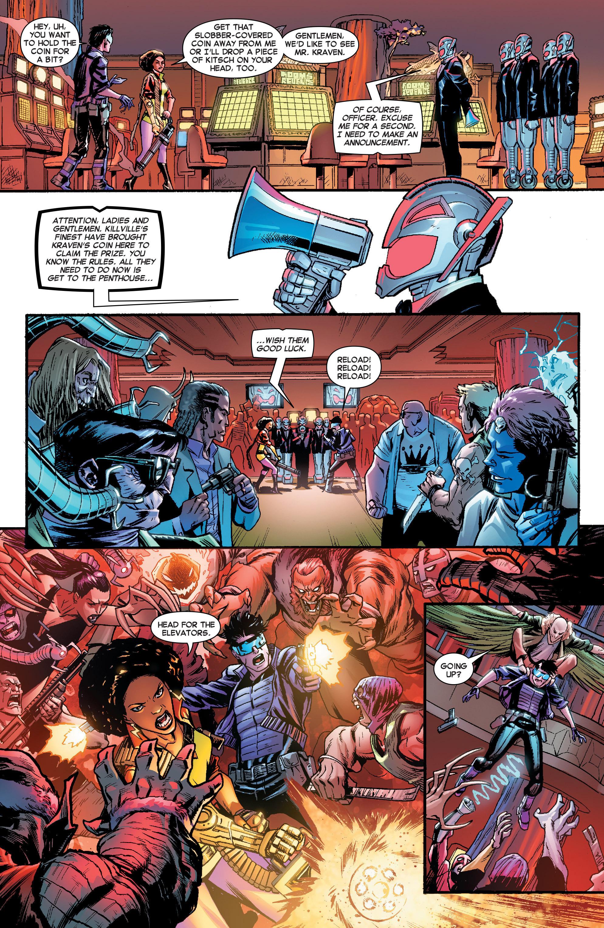 Read online Secret Wars Journal comic -  Issue #2 - 7