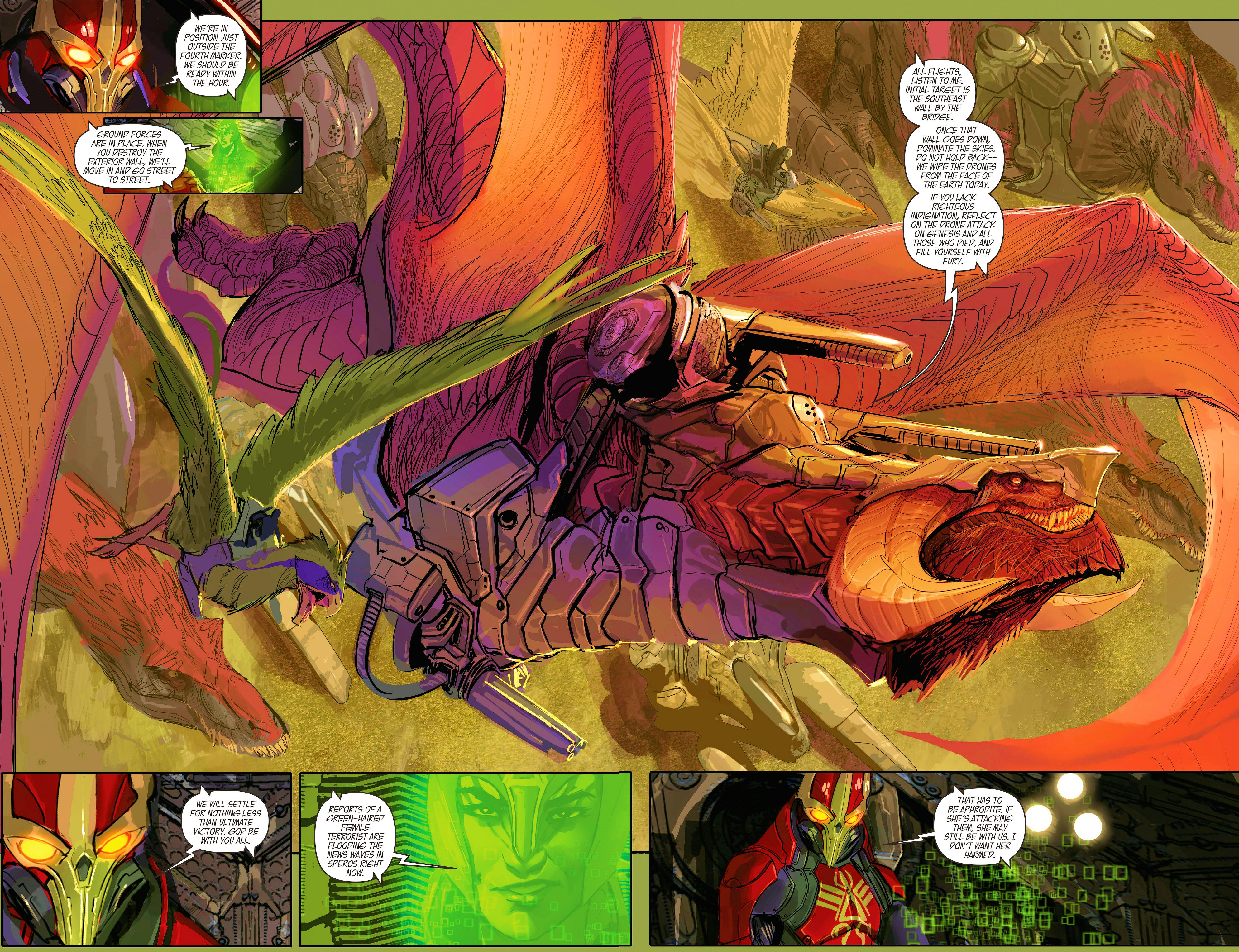 Read online Aphrodite IX (2013) comic -  Issue #9 - 18