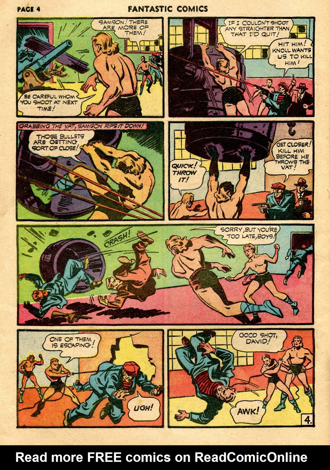 Read online Fantastic Comics comic -  Issue #21 - 6