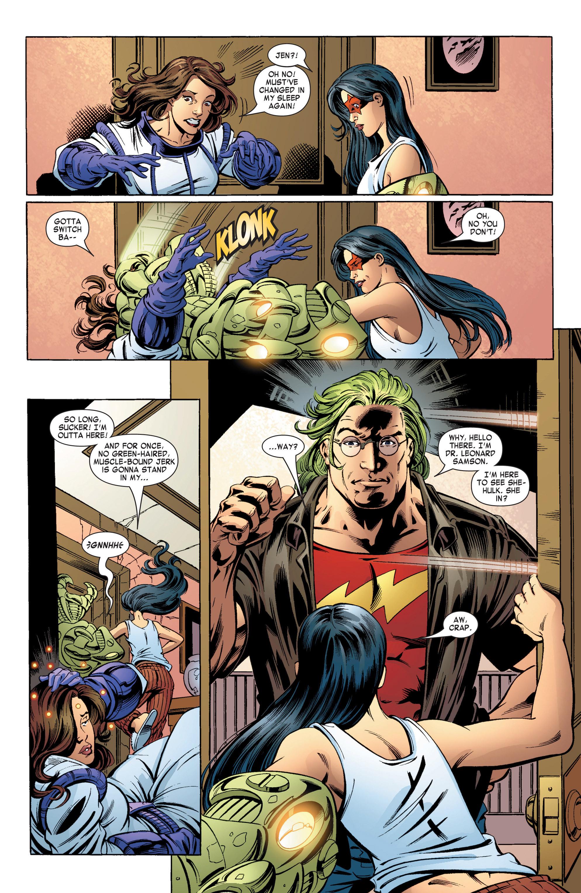 Read online She-Hulk (2004) comic -  Issue #11 - 5