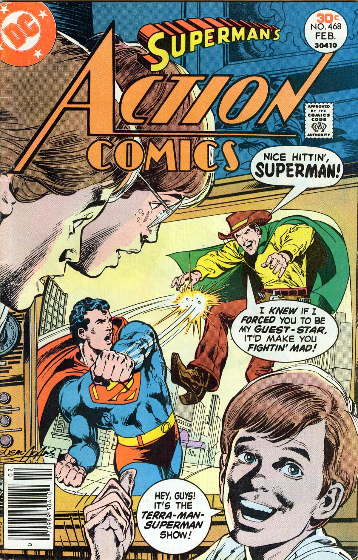 Read online Action Comics (1938) comic -  Issue #468 - 1