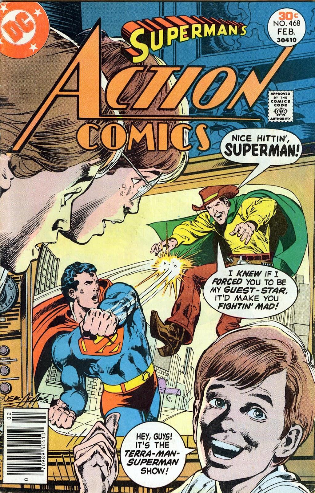 Action Comics (1938) 468 Page 1