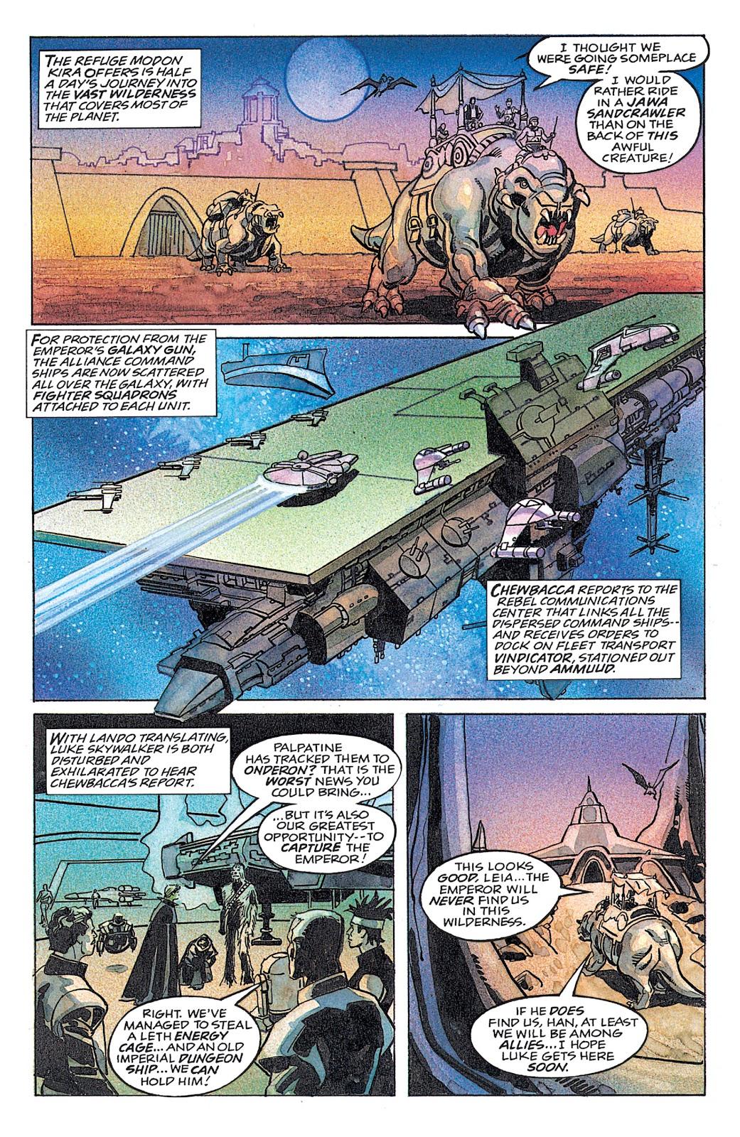 Read online Star Wars: Dark Empire Trilogy comic -  Issue # TPB (Part 4) - 42