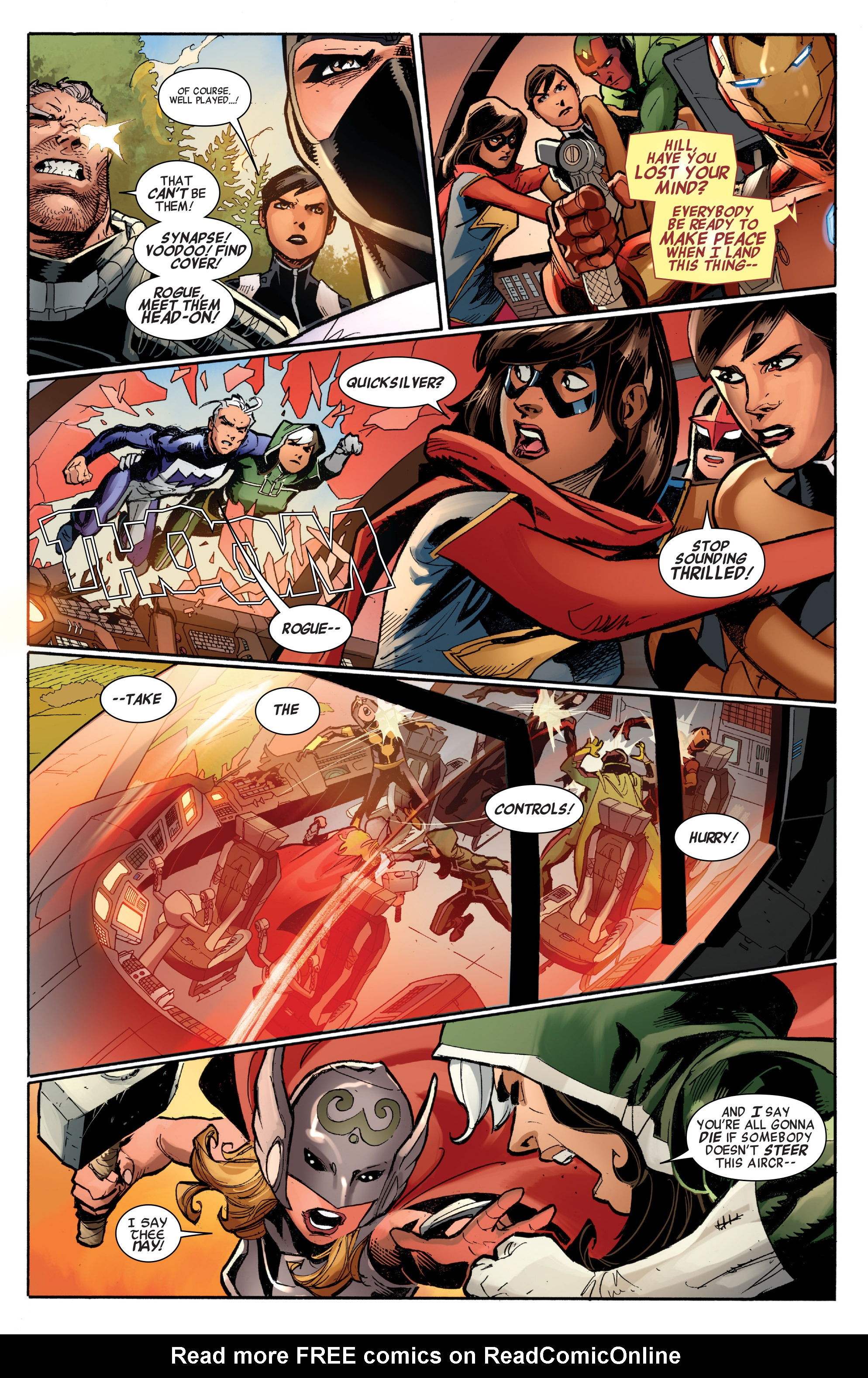 Read online All-New, All-Different Avengers comic -  Issue #7 - 15