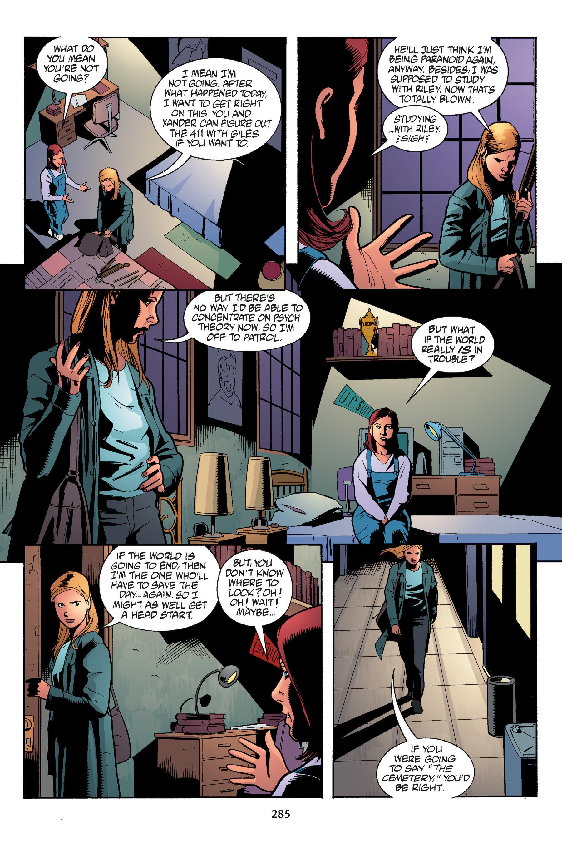 Read online Buffy the Vampire Slayer: Omnibus comic -  Issue # TPB 5 - 284