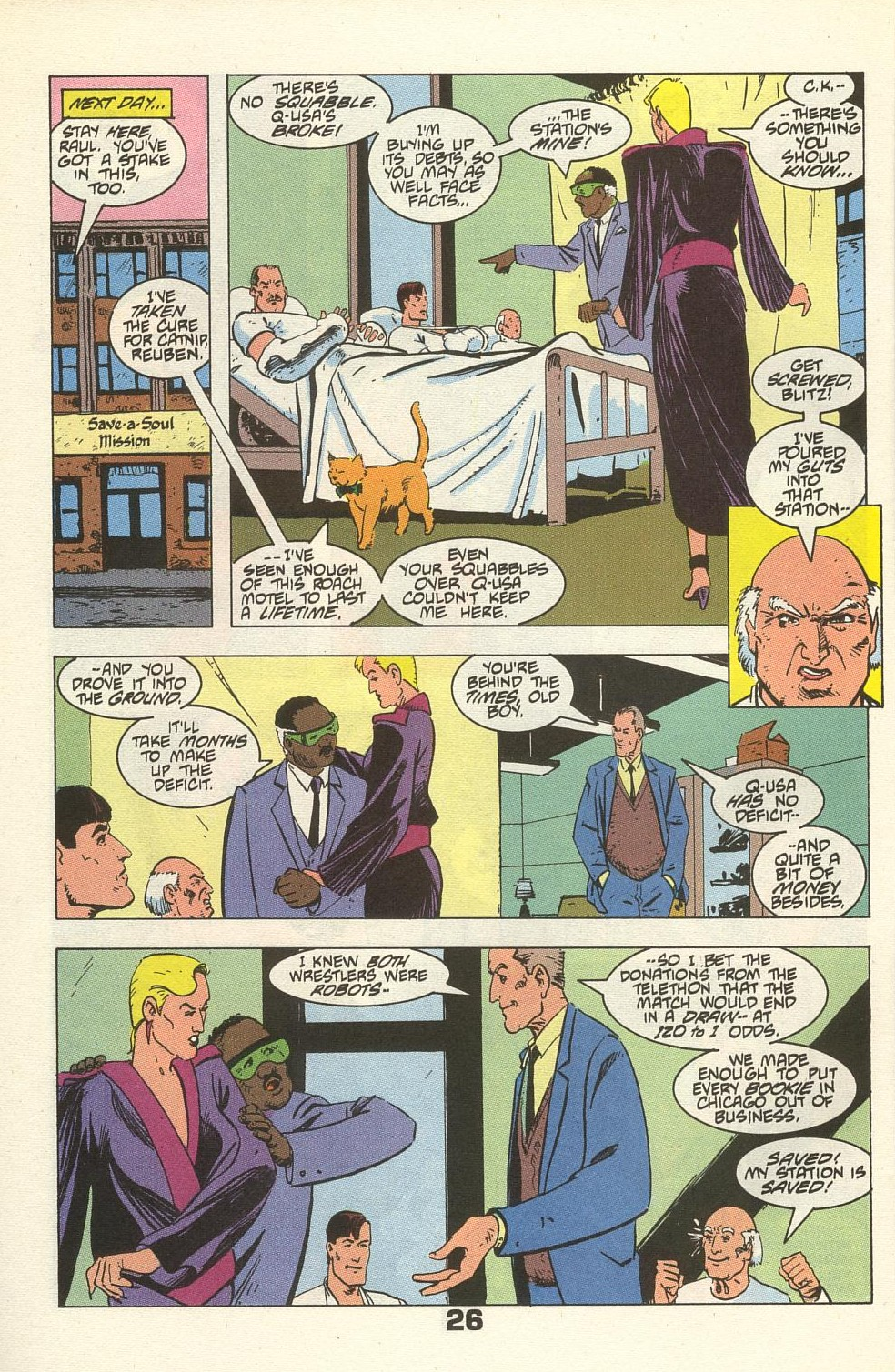 Read online American Flagg! comic -  Issue #34 - 32
