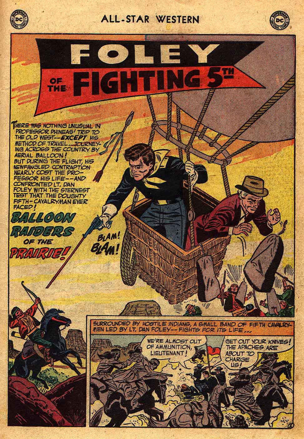 Read online All-Star Western (1951) comic -  Issue #70 - 19