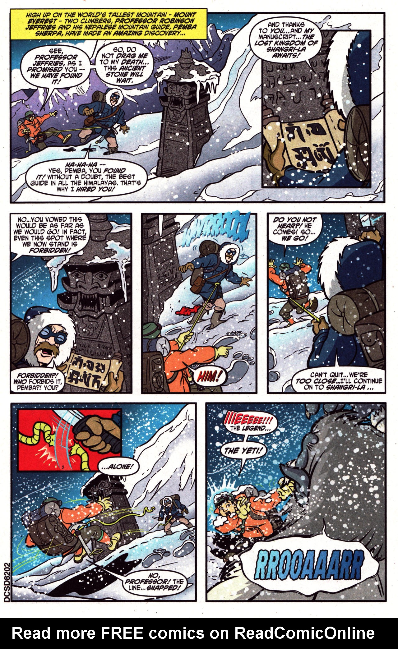 Read online Scooby-Doo (1997) comic -  Issue #124 - 2