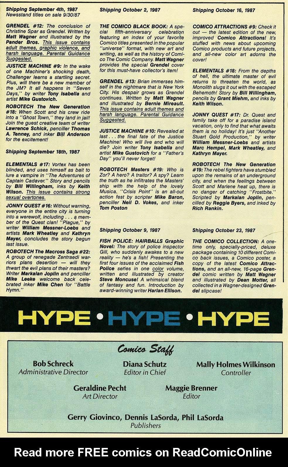 Elementals (1984) issue 17 - Page 32