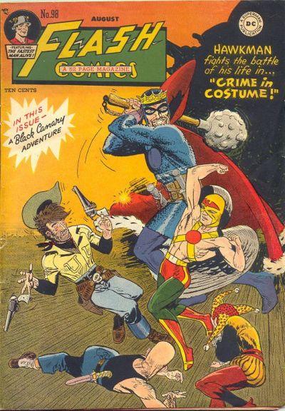 Flash Comics 98 Page 1