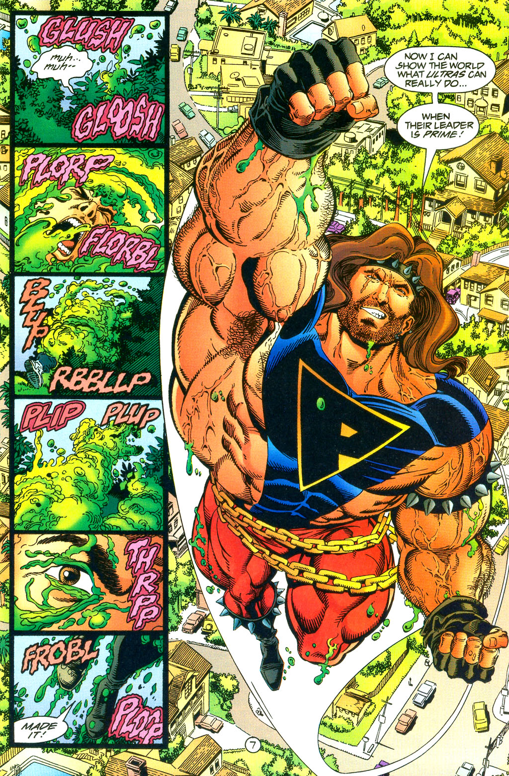 Read online UltraForce (1994) comic -  Issue #0 - 9