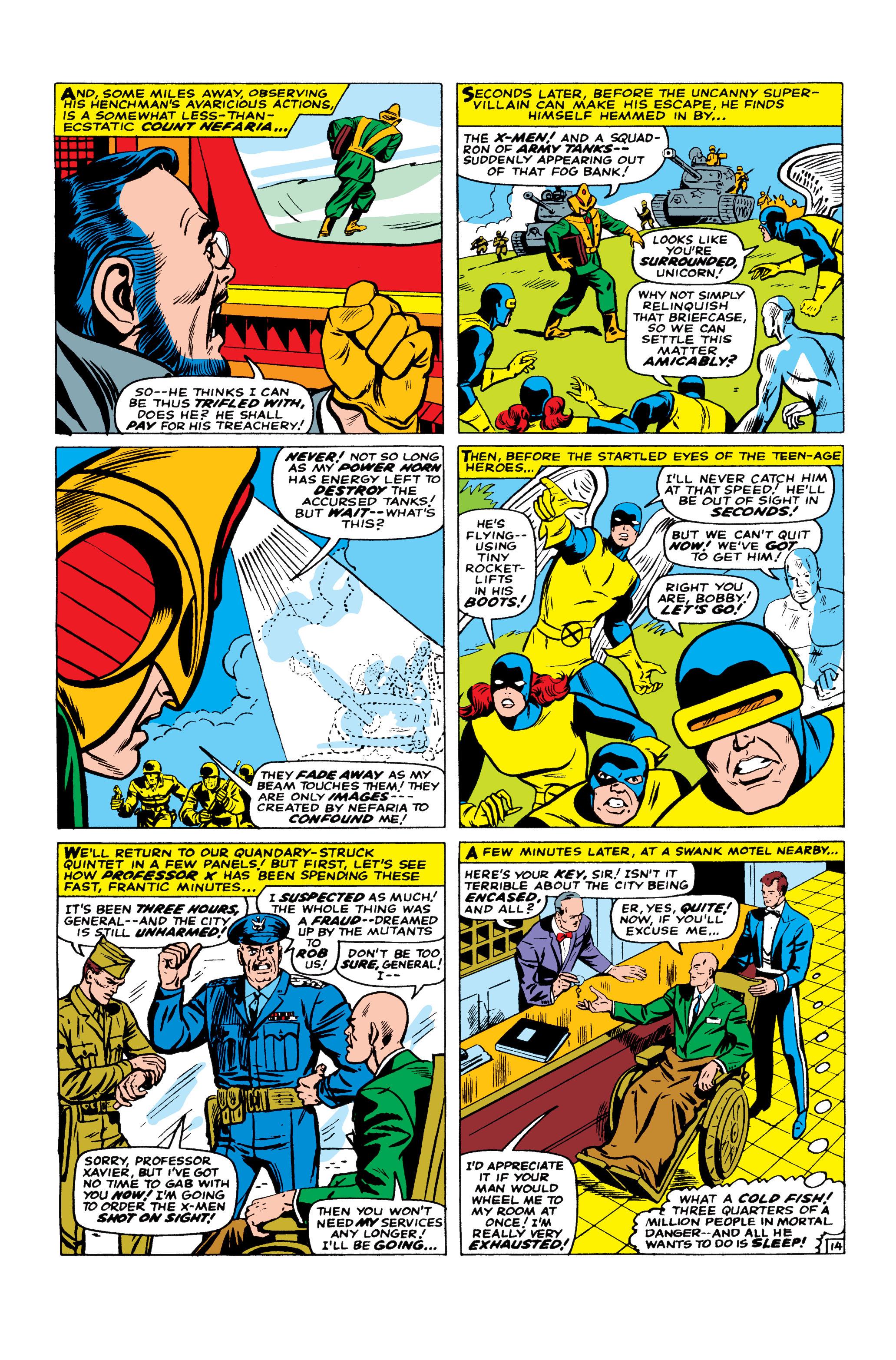 Read online Uncanny X-Men (1963) comic -  Issue #23 - 15