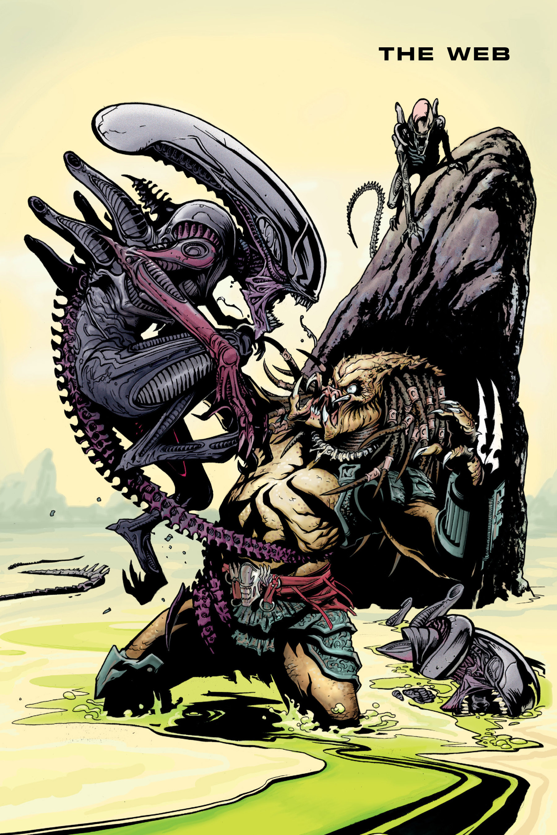 Read online Aliens vs. Predator Omnibus comic -  Issue # _TPB 1 Part 4 - 125