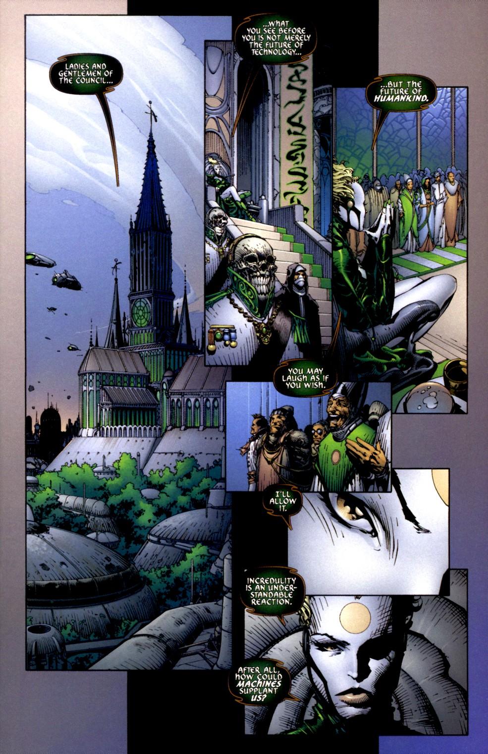Read online Aphrodite IX (2000) comic -  Issue #2 - 4