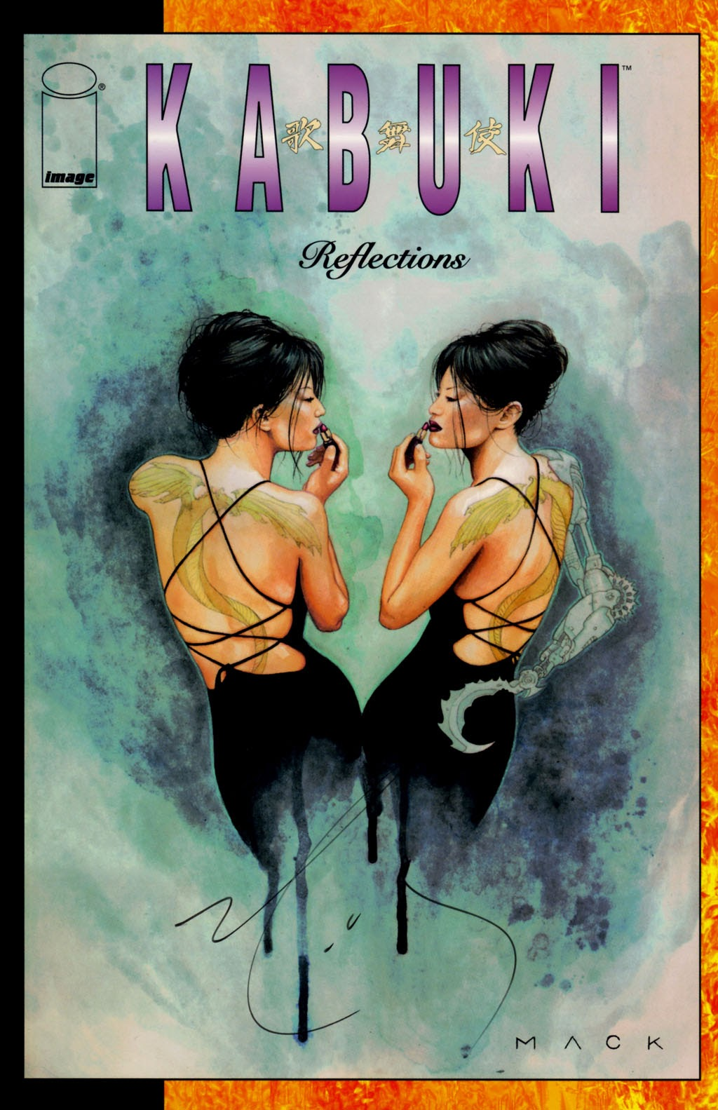 Read online Kabuki: Reflections comic -  Issue #1 - 1