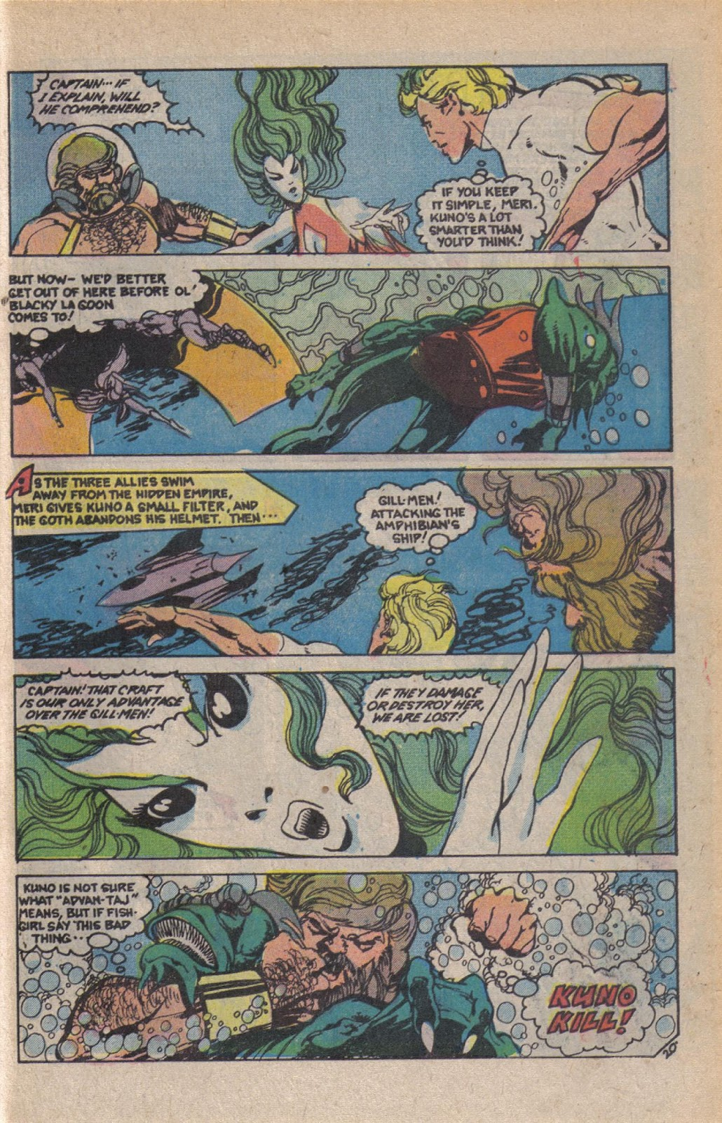 Read online Doomsday   1 (1975) comic -  Issue #10 - 26