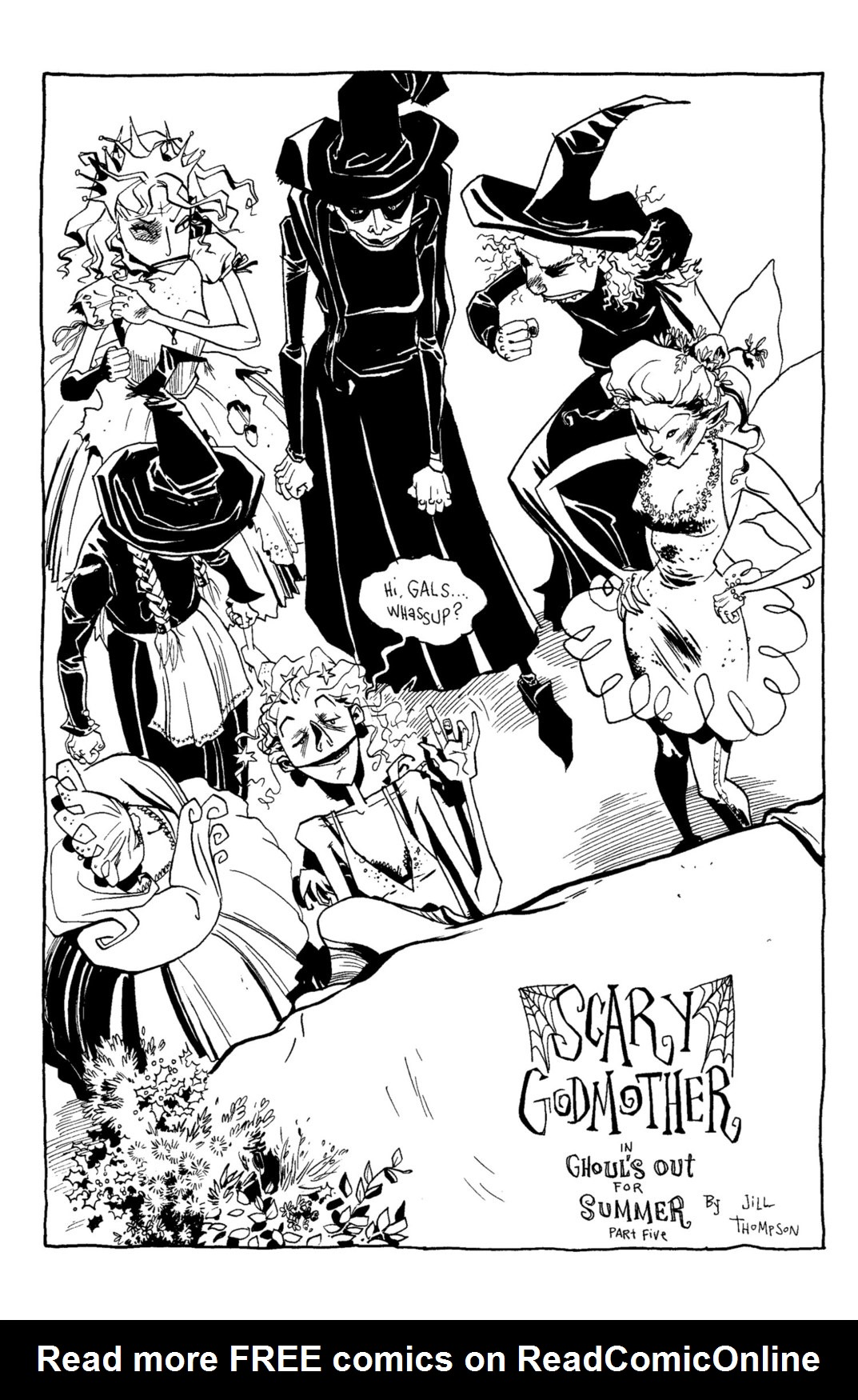 Read online Scary Godmother Comic Book Stories comic -  Issue # TPB - 224