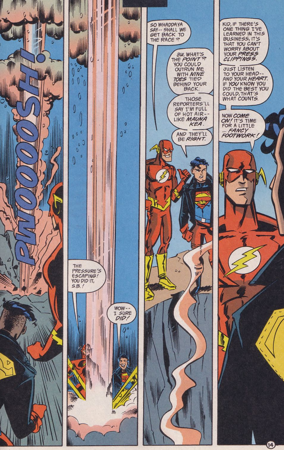Read online Adventures in the DC Universe comic -  Issue #14 - 15