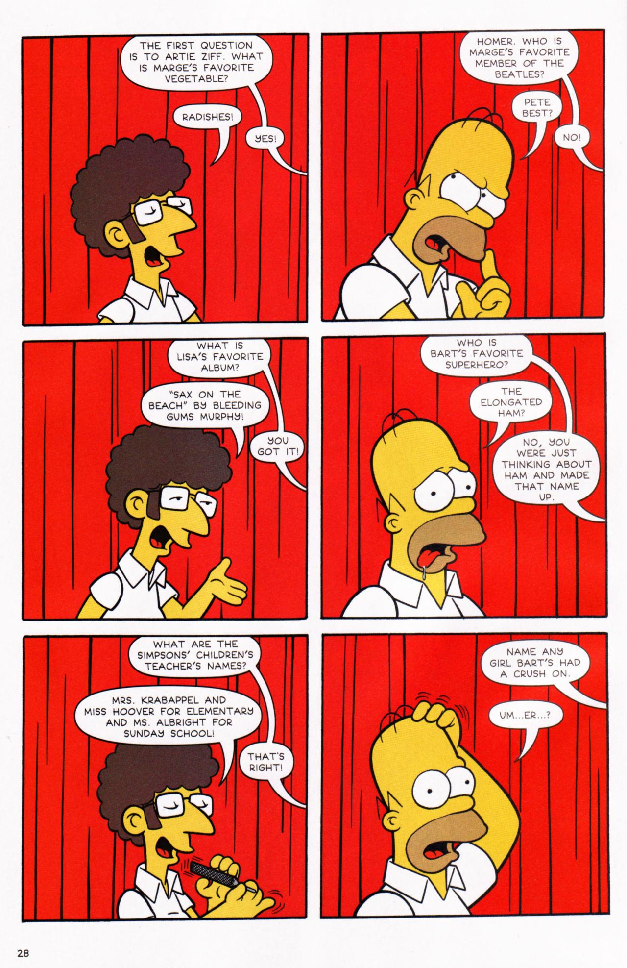 Read online Simpsons Comics comic -  Issue #130 - 23