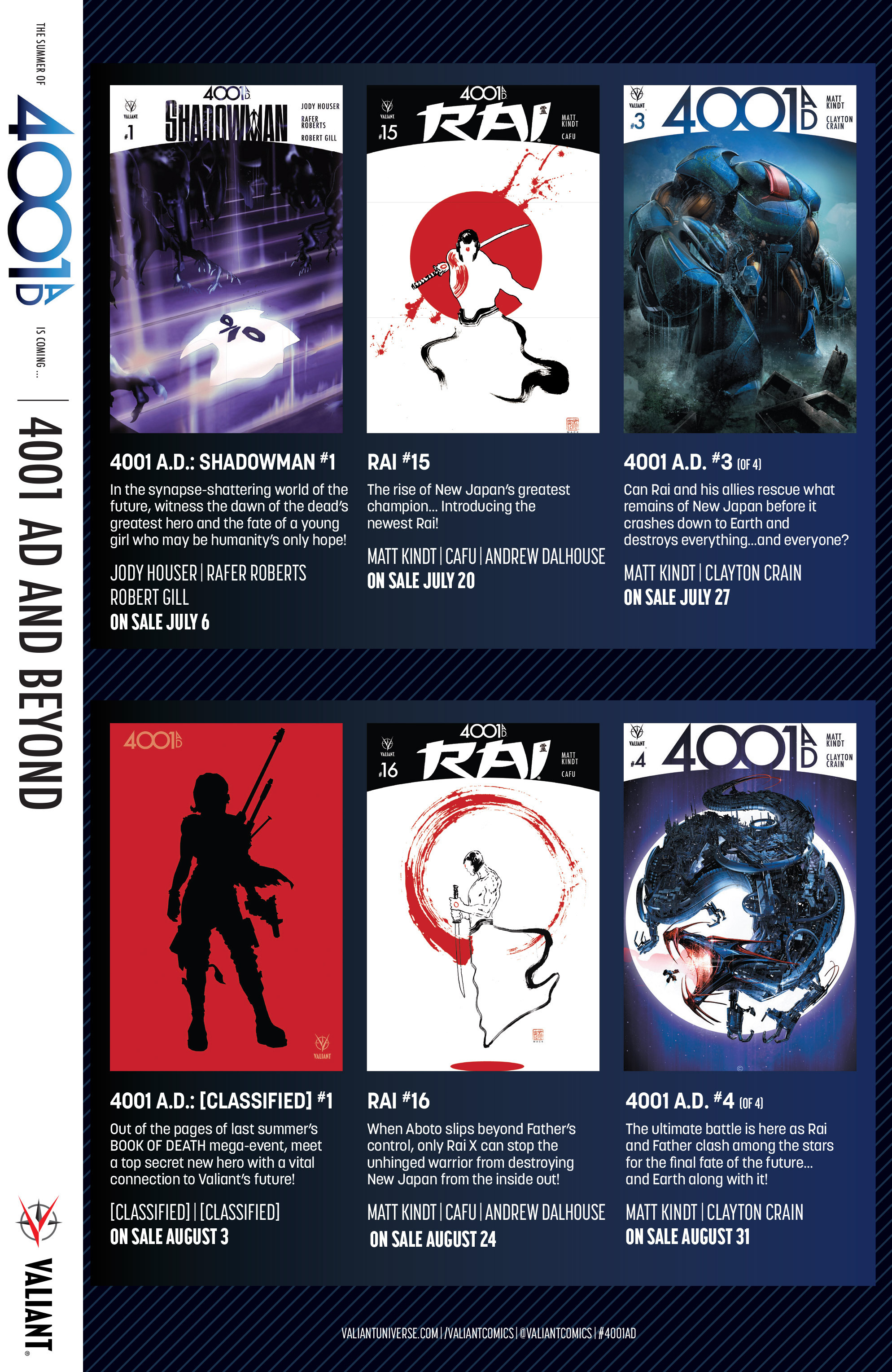Read online 4001 A.D. comic -  Issue #1 - 36