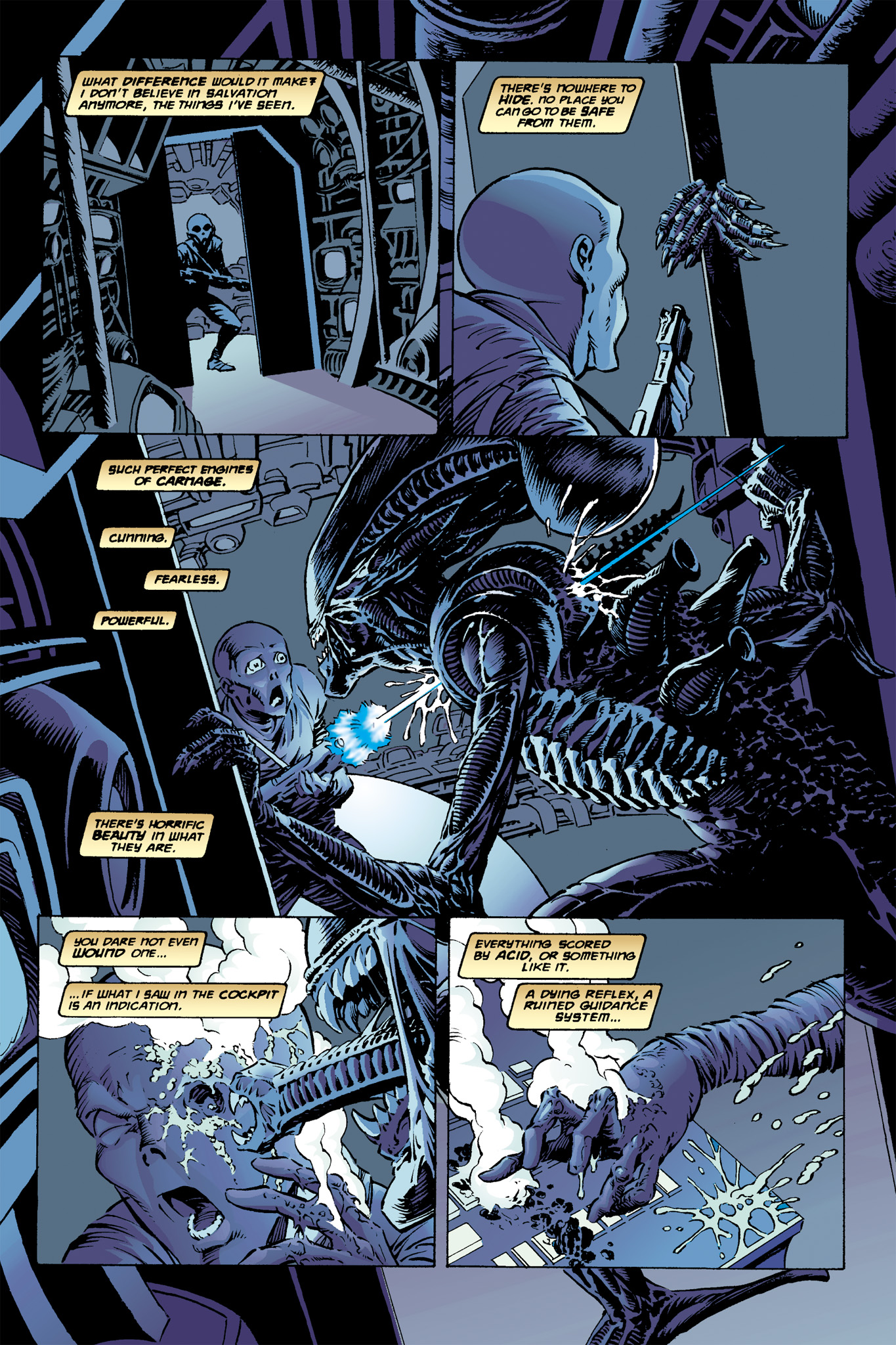 Read online Aliens: Incubation/Lucky/Taste comic -  Issue # Full - 13