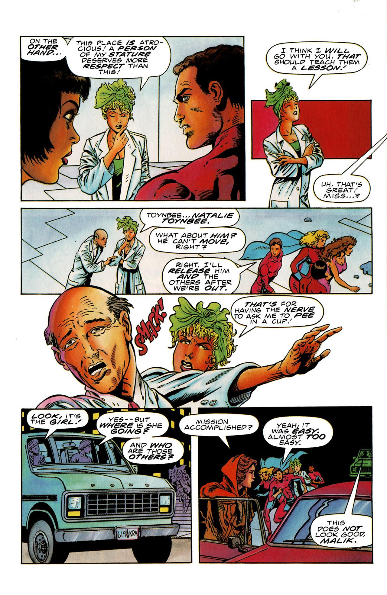 Read online Harbinger (1992) comic -  Issue #19 - 7