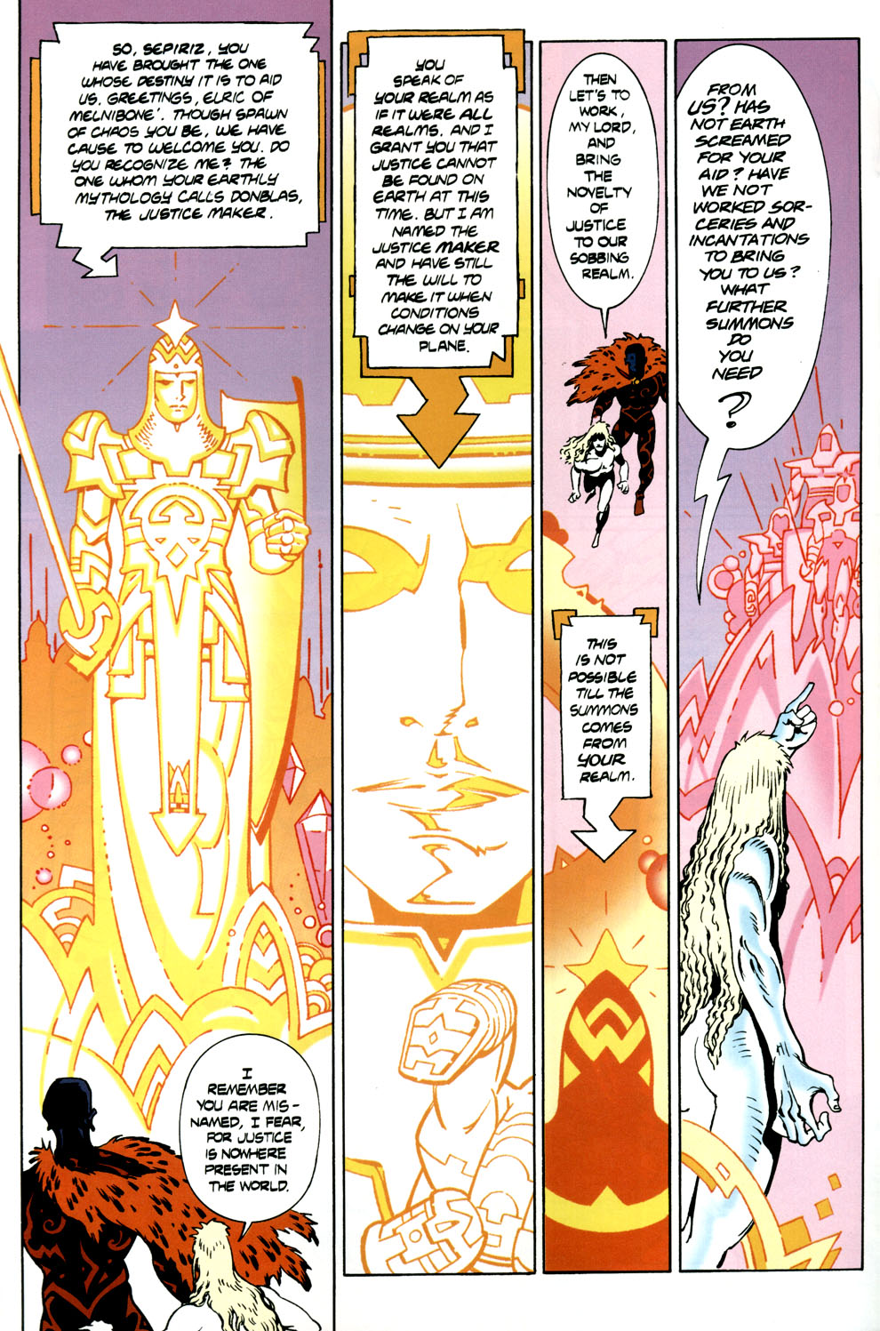 Read online Elric: Stormbringer comic -  Issue #6 - 10