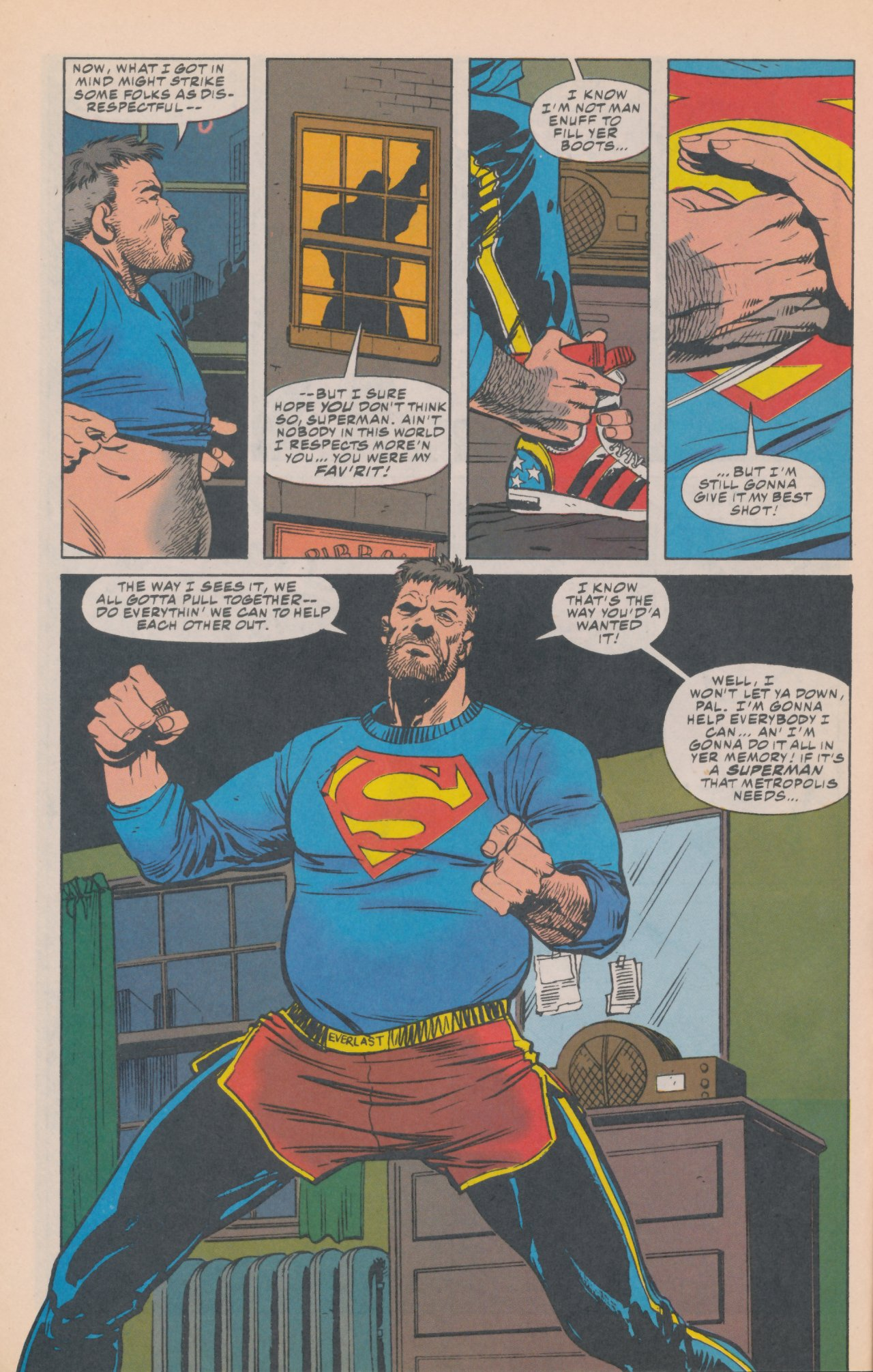 Read online Action Comics (1938) comic -  Issue #687 - 19