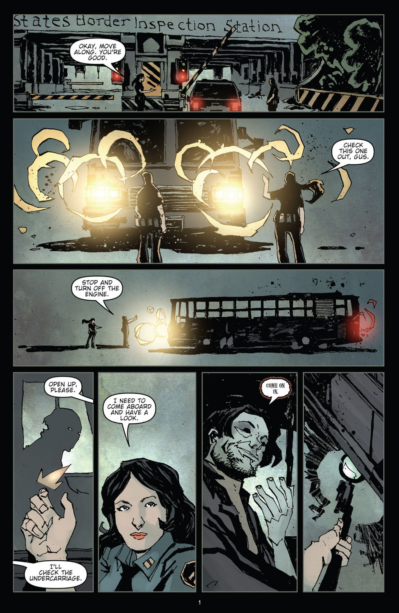 Read online 30 Days of Night (2011) comic -  Issue #10 - 3