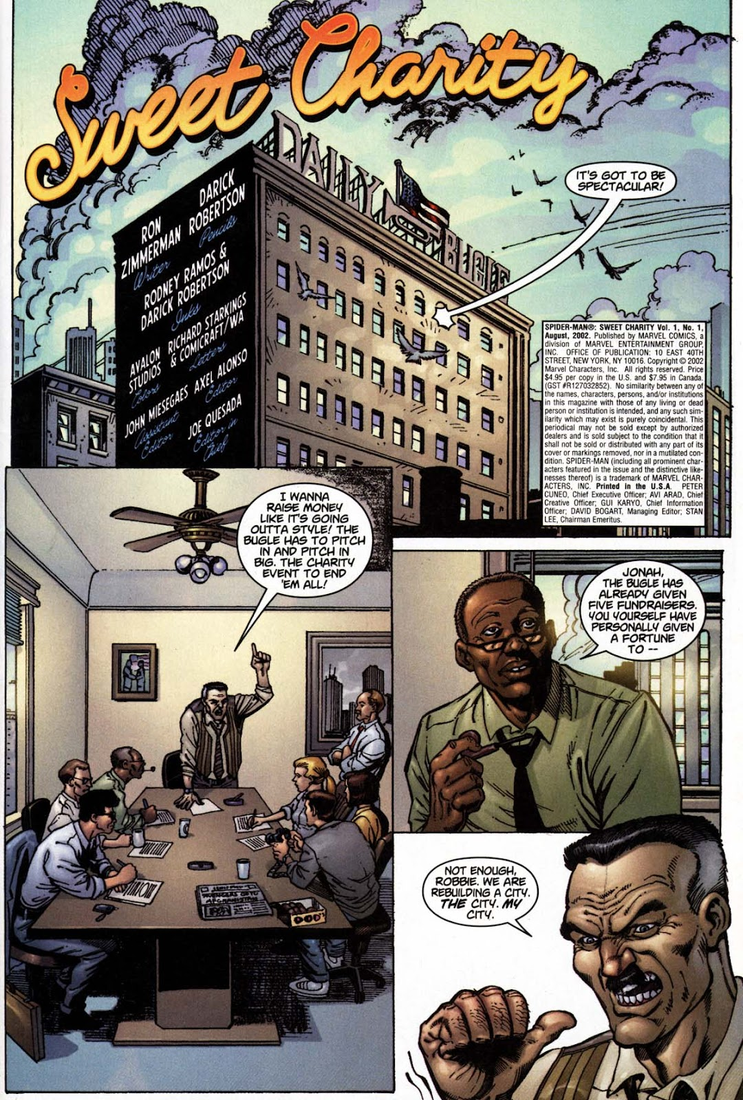 Spider-Man: Sweet Charity Full Page 2