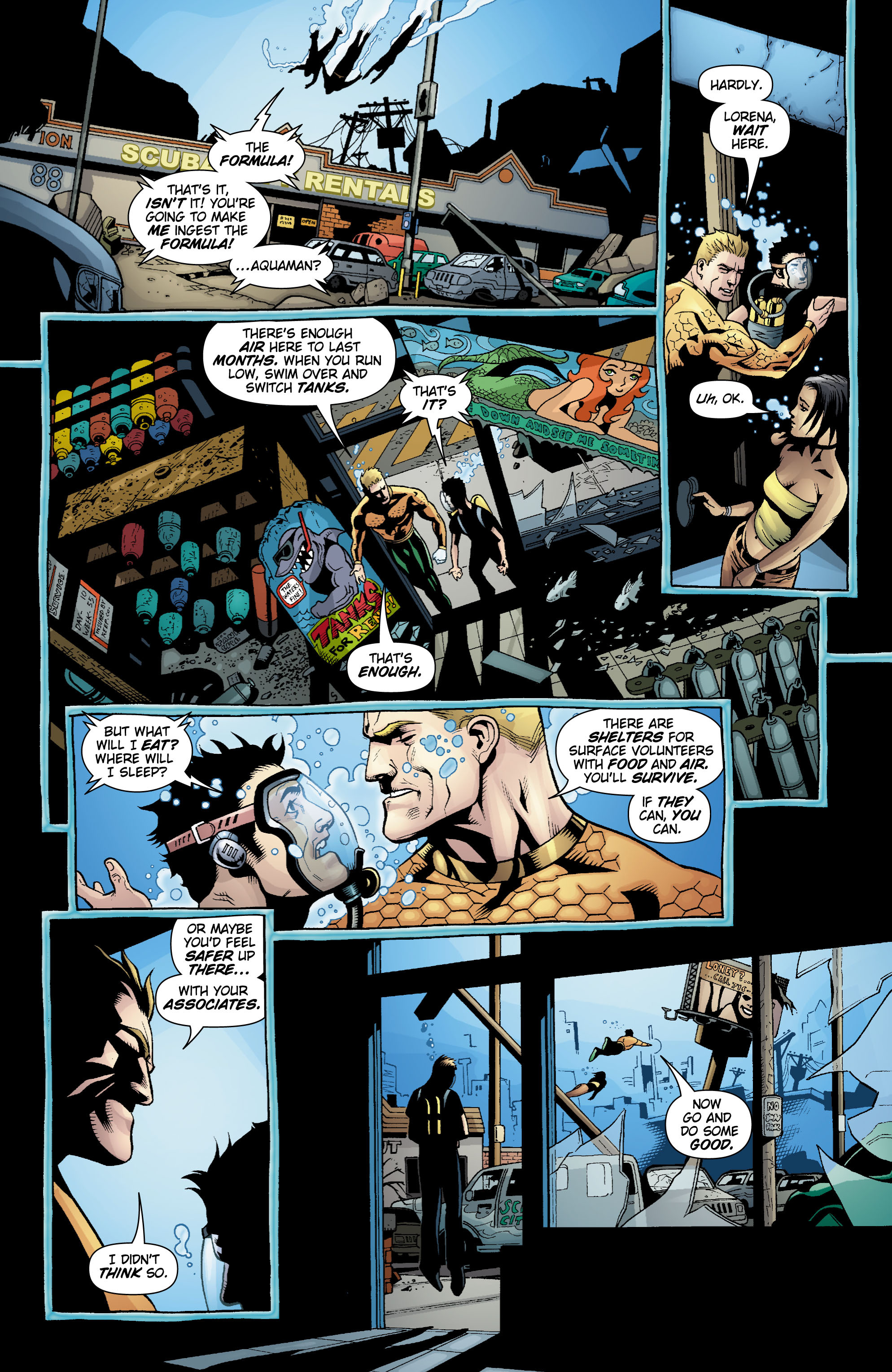 Read online Aquaman (2003) comic -  Issue #20 - 17