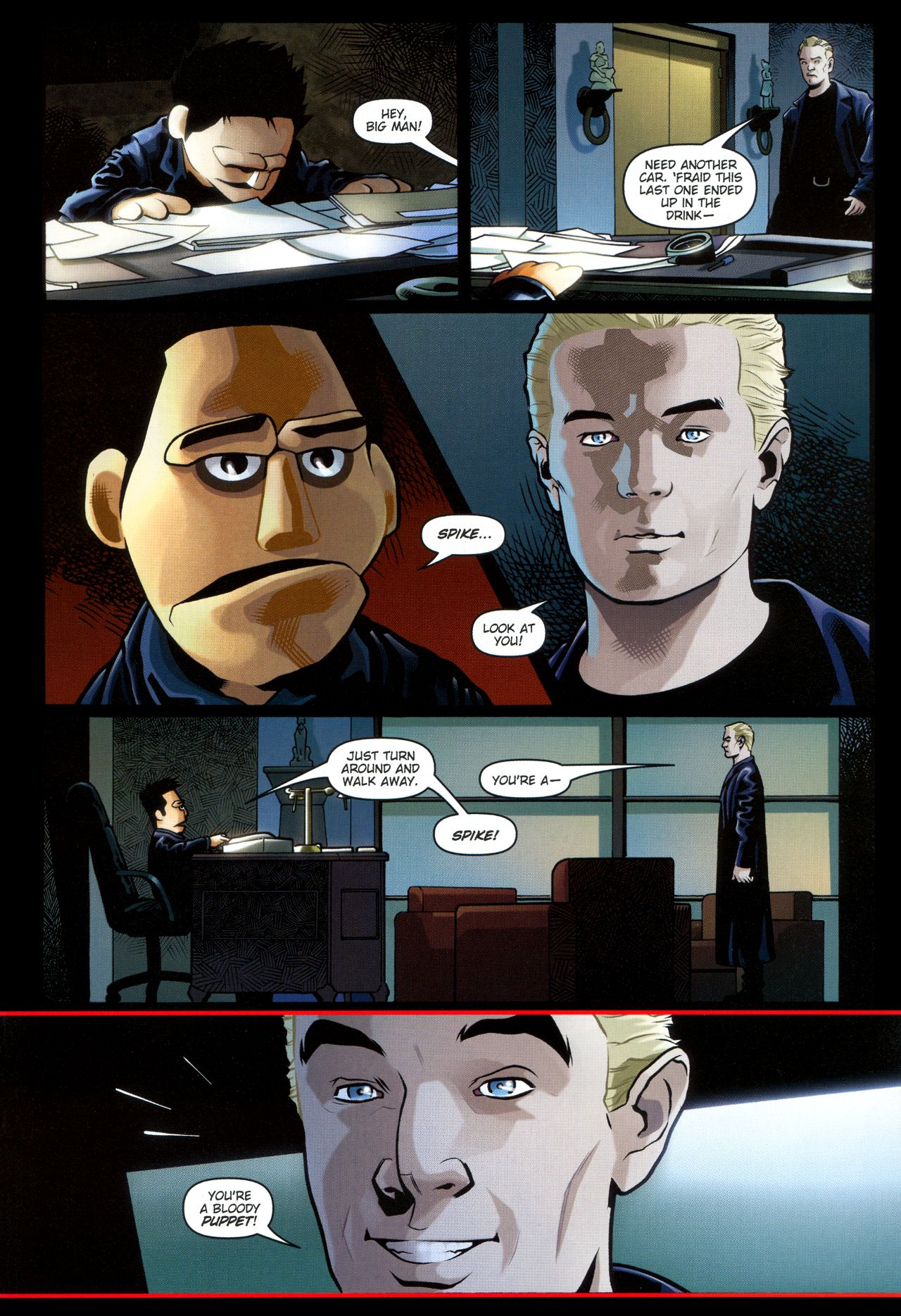 Read online Angel: Smile Time comic -  Issue #2 - 11