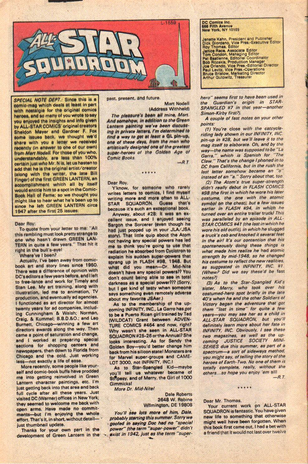 Read online All-Star Squadron comic -  Issue #33 - 32