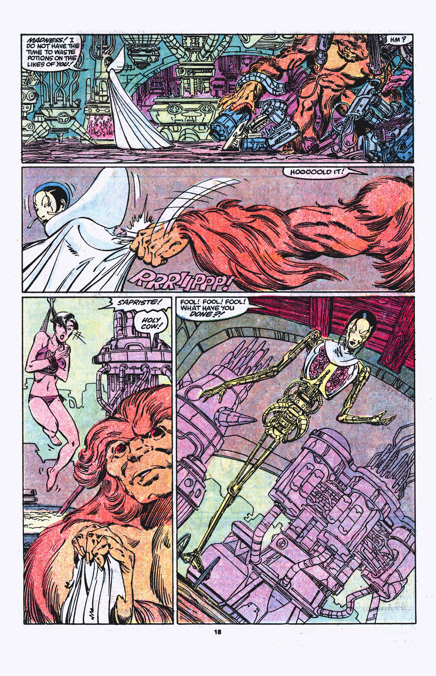 Read online Alpha Flight (1983) comic -  Issue #21 - 19