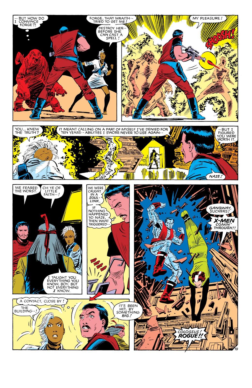 Uncanny X-Men (1963) issue 187 - Page 20