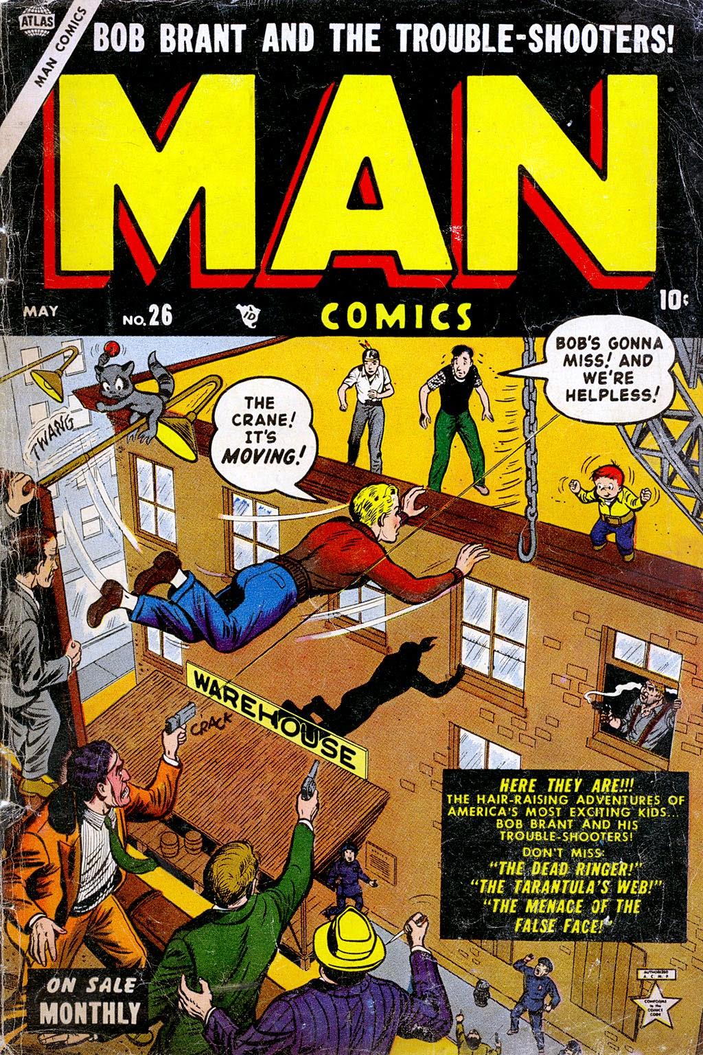 Man Comics 26 Page 1
