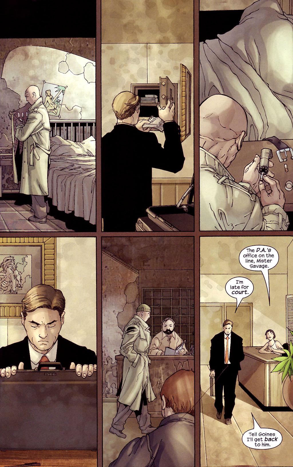 Read online Ultimate Elektra comic -  Issue #4 - 14
