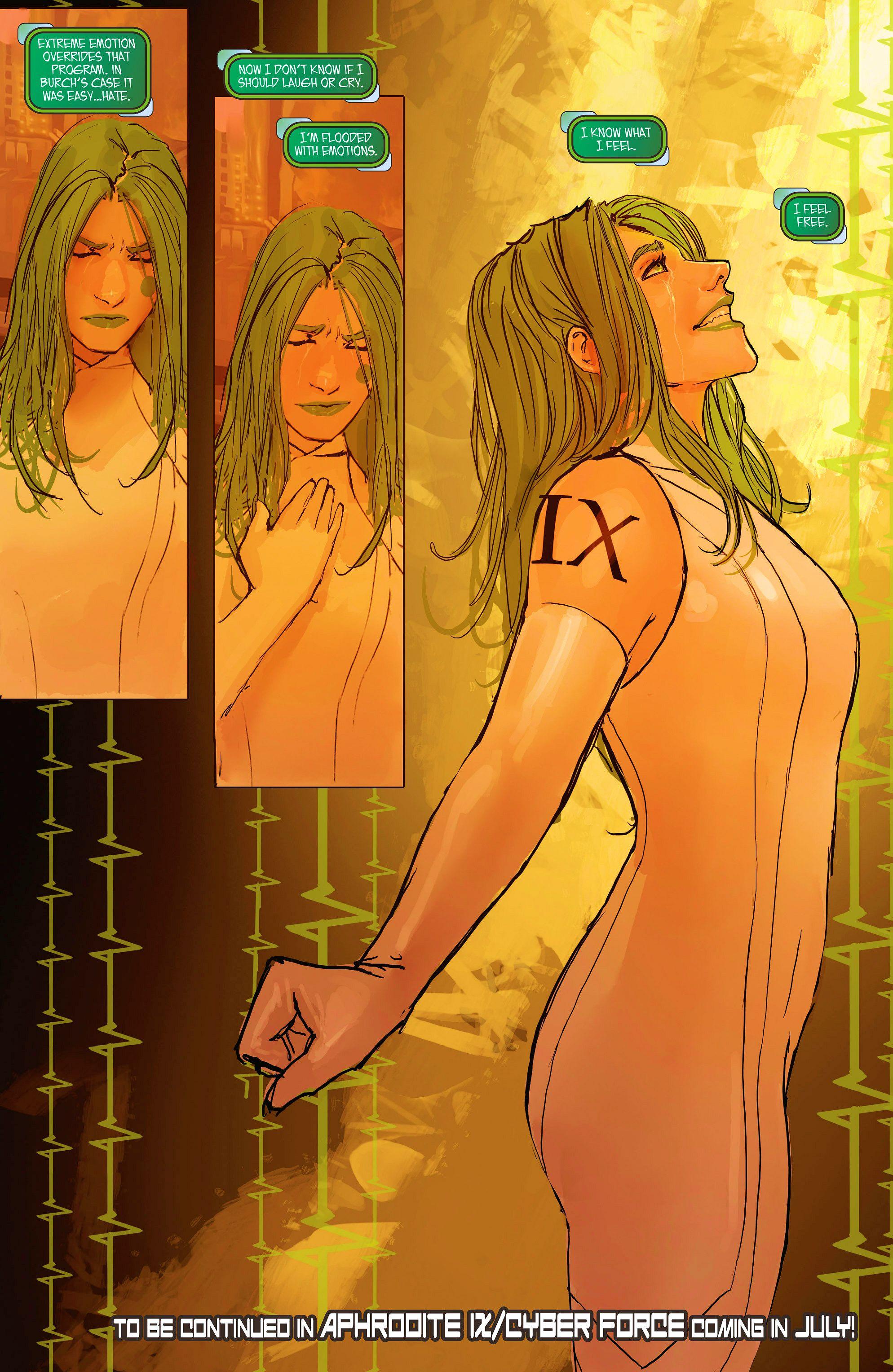 Read online Aphrodite IX (2013) comic -  Issue #11 - 26