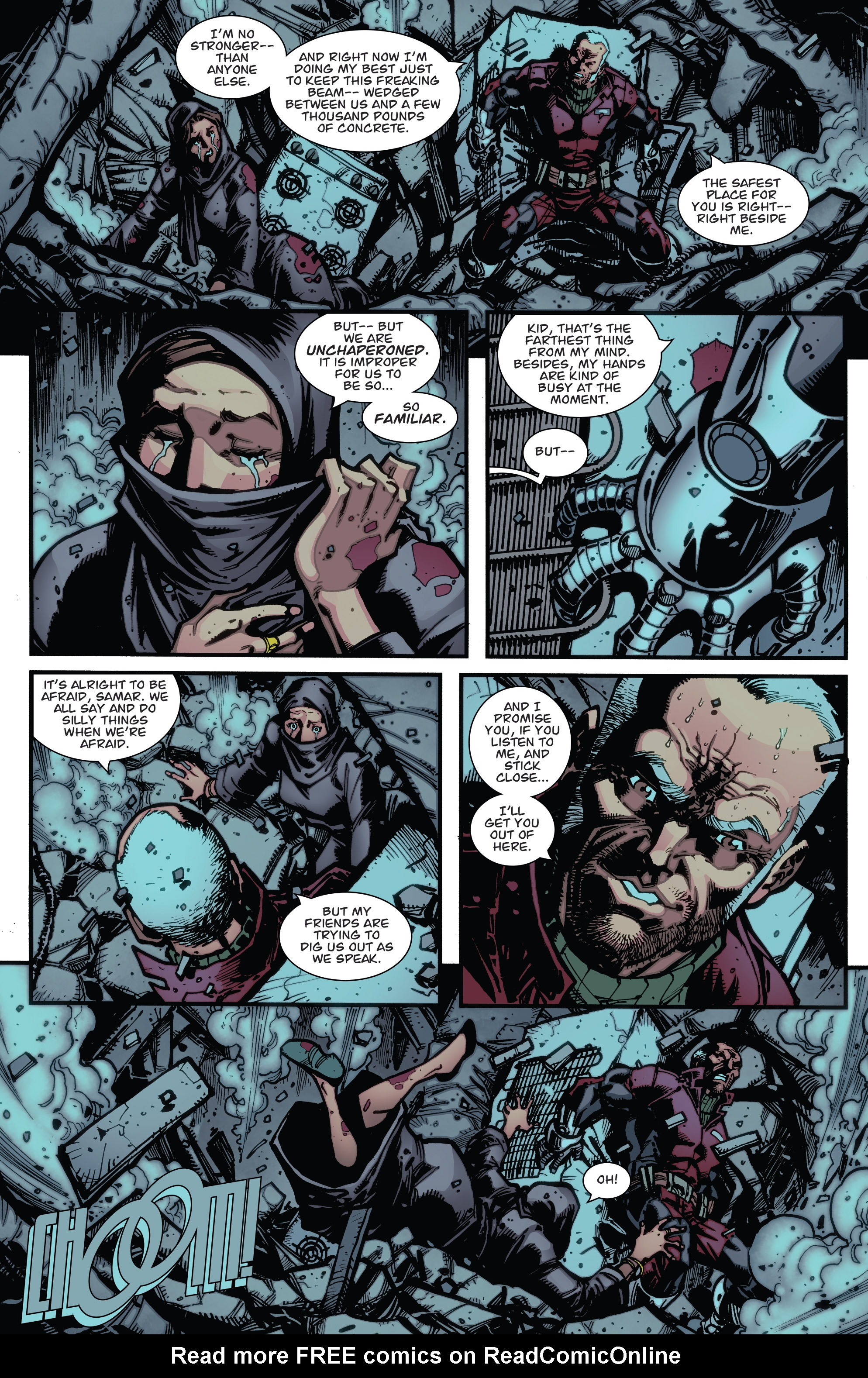 Read online Guarding the Globe (2012) comic -  Issue #6 - 13