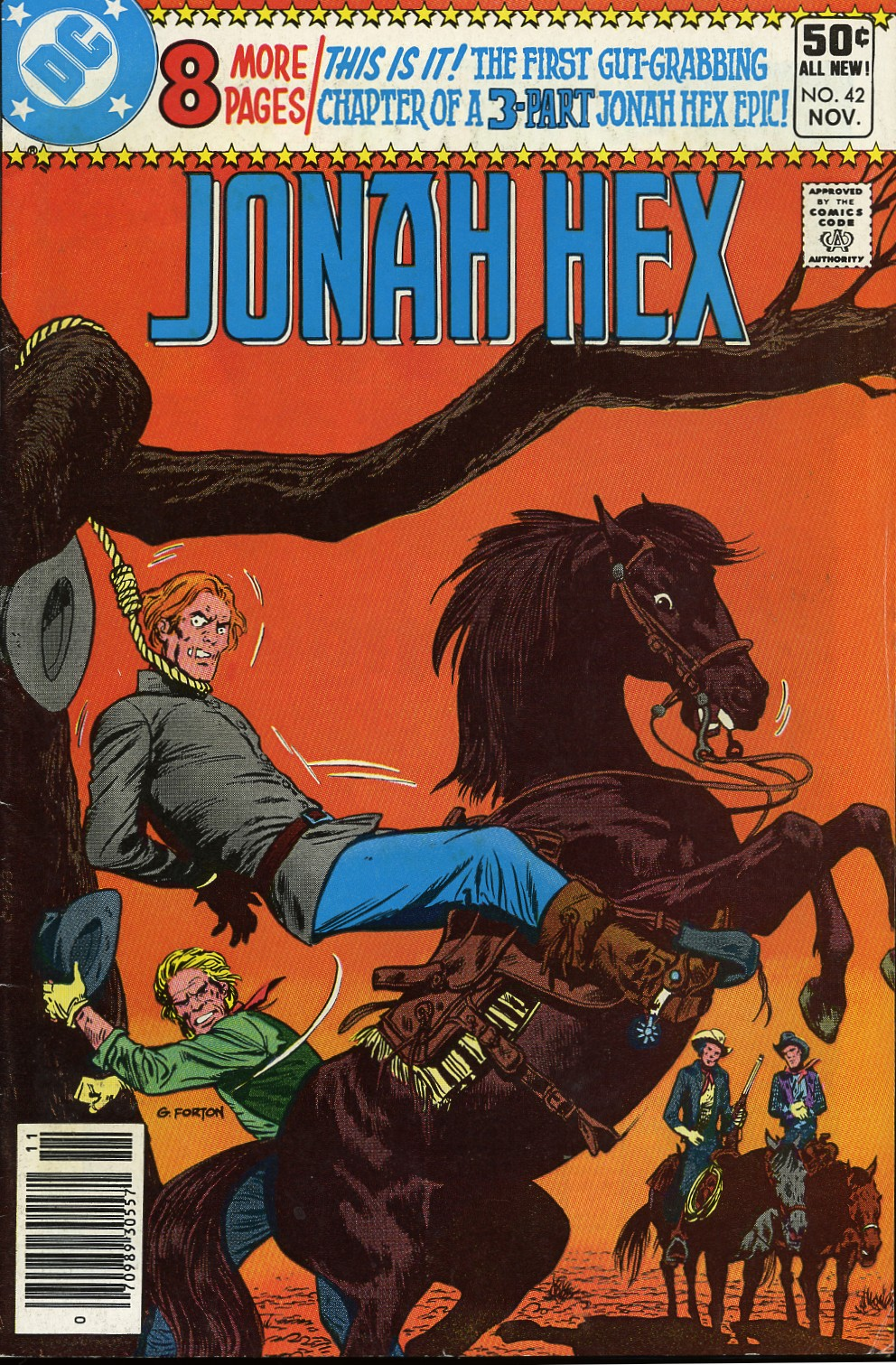 Jonah Hex (1977) 42 Page 1