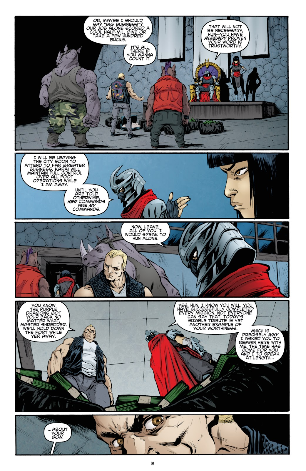 Read online Teenage Mutant Ninja Turtles: The IDW Collection comic -  Issue # TPB 4 (Part 3) - 17