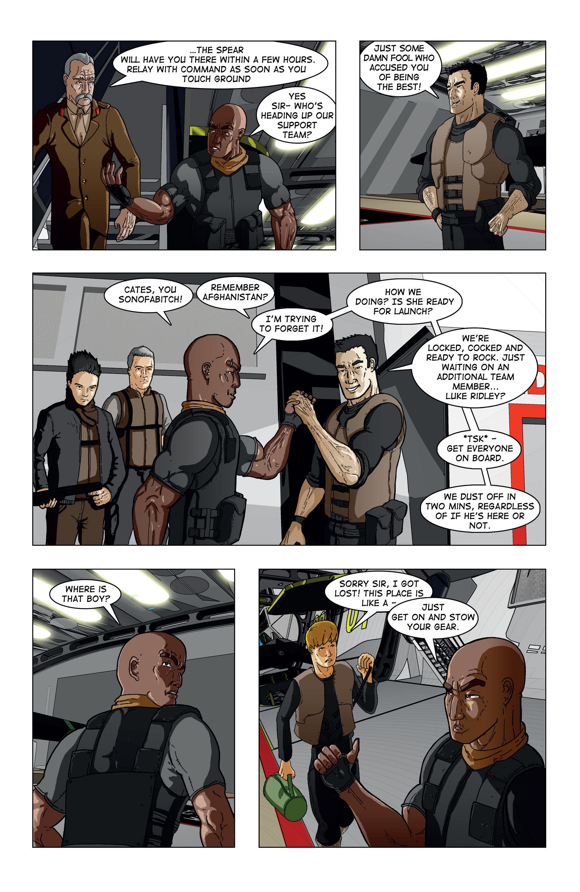 Read online Vanguard (2015) comic -  Issue #1 - 21