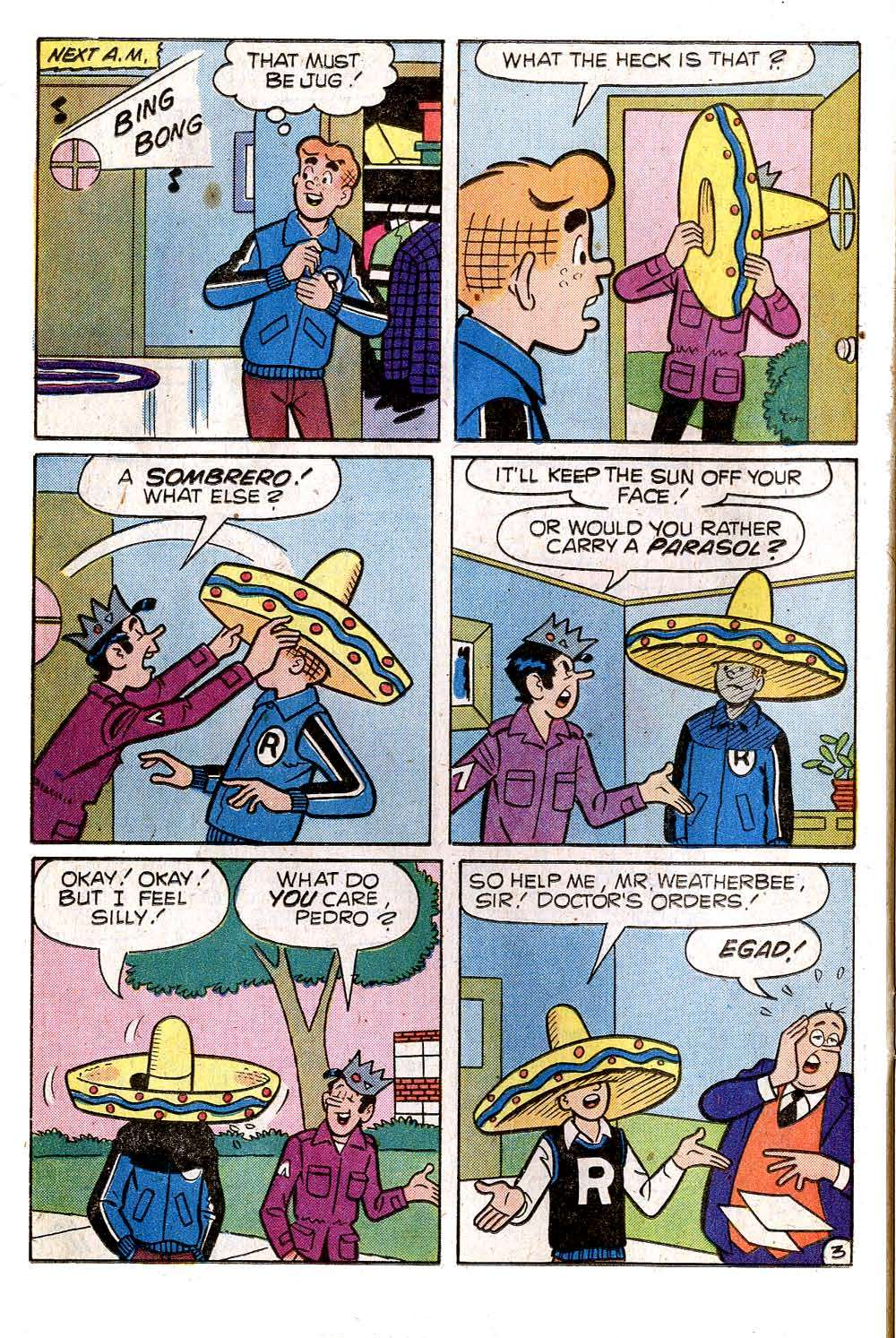 Read online Archie (1960) comic -  Issue #269 - 22